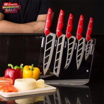 TVDirect มีดเอนกประสงค์ AERO KNIFE (Red) ของใช้ในครัว
