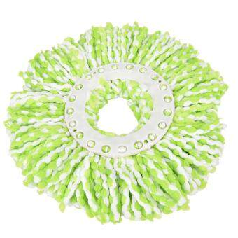 Useful Household Magic Replacement Refill 360°Spin Cleaning PadMicrofiber Mop Head Green