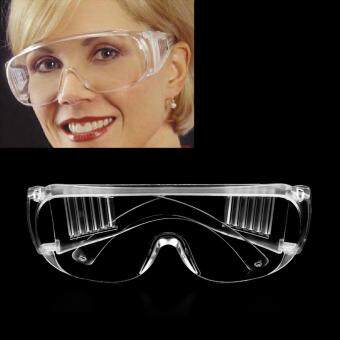 USTORE New Work Safety Glasses Clear Eye Protection Wear Spectacles Goggles