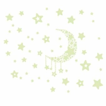 VORSTEK Fluorescence Glow in Dark Luminous Star Nursery Kid BabyRoom Wall Sticker Decal - intl