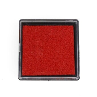 Warm your home 15 Colors Durable DIY Craft Oil Based Stamp Ink*PadPrint For Stamps Rubber - intl
