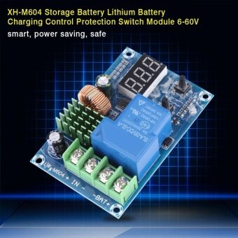 XH-M604 Battery Charge Control Module DC 6-60V Protection Board forAutomatic Charging/Stop - intl