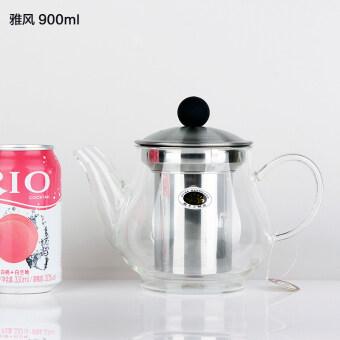 YAVON หนาอุณหภูมิสูงกาน้ำชากาน้ำชาหม้อ Acacia