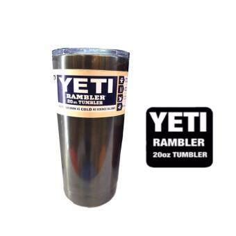 YETI Rambler แก้วเก็บความเย็น เก็บน้ำแข็งได้นาน 18-24ชั่วโมง ขนาด 20 ออนซ์