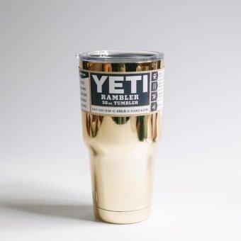 YETI Rambler แก้วเก็บความเย็น ขนาด30ออนซ์ (สีทอง)