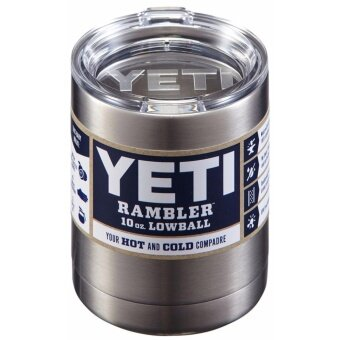 Yika Yeti Rambler Stainless Steel Coffee Mug Cup Insulated 10ozTumbler New - intl