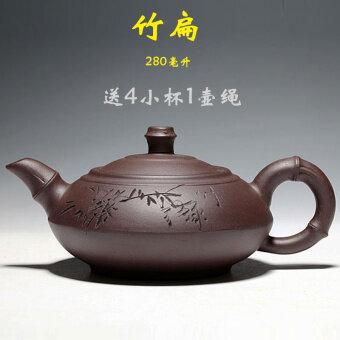 บ้านที่ทำด้วยมือกาน้ำชา Yixing กาน้ำชา
