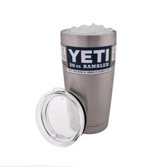 YKK Bilayer Stainless Steel Insulation Cup YETI Cups Cars Beer MugLarge Capacity Mug(20 oz) - Intl