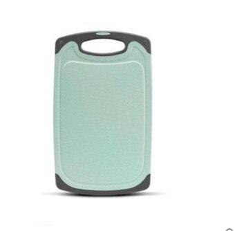 ZH Antibacterial and mildew proof plastic household rolling board(green) - intl