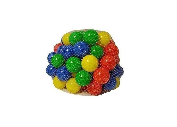 100 Multi Coloured Play Balls Kids Portable Pit Ball Pool Outdoor Indoor Baby Tent Play Hut Toy - intl
