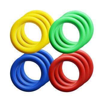 ห่วงโยน พลาสติก โยนห่วง ชุด 12 อัน (คละสี) / Color Ring set 12 pcs.