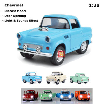Harga 1:38 Scale Die-cast Chevrolet with Light & Sounds