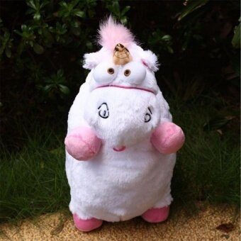 1Pcs Despicable Me Fluffy Unicorn Soft Stuffed Plush Doll GiftsForkid - intl