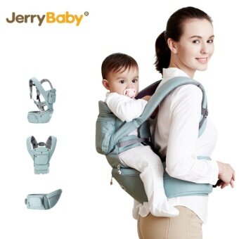Harga 2-36 Months 36KG Breathable Multifunctional Ergonomic Baby CarrierInfant Comfortable Sling Backpack Hipseat Wrap Baby Kangaroo(Green) - intl
