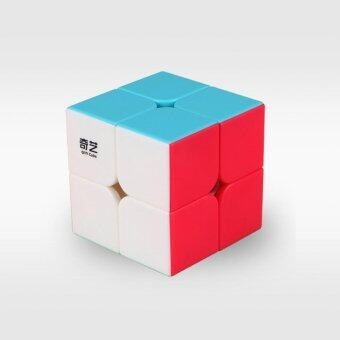 2x2 Pocket Cube Intelligence Toys Brain Teaser Puzzle StickerlessMagic Cubes for Beginners - intl