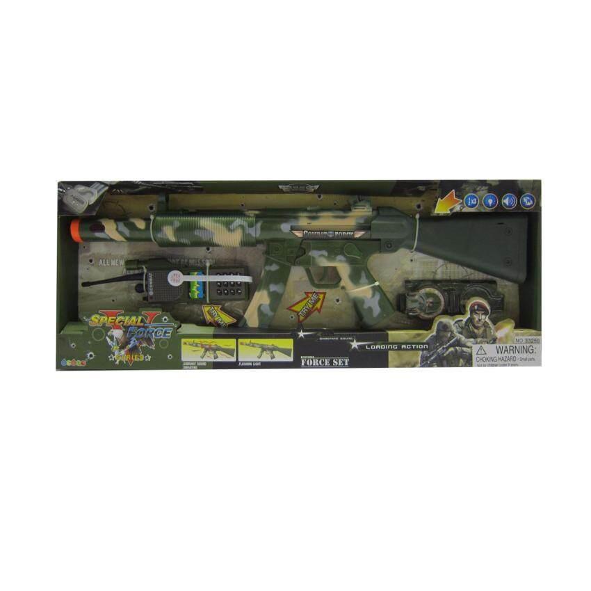 ของเด็กเล่น ปืนทหารกล่อง (33250)