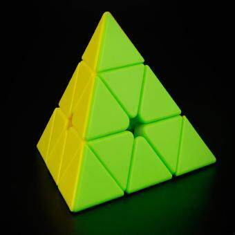 360DSC YJ8244 MoYu Magnetic Pyramid Pyraminx 3x3x3 Magic Cube Speed Cube Puzzle - Colorful - intl