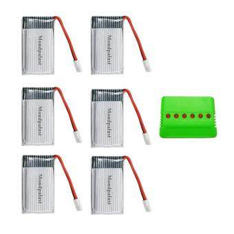 6x Rechargeable Battery of Lipo 3.7V 850mAh + 6 in 1 batteryCharger for Quadricopter Quadcopter RC Helicopter Syma X5 x5C x5C-1X5SC X5SW Drone