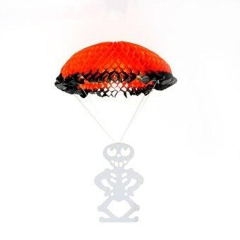 AJKOY Halloween Decorations Folding Paper Parachute HolidayDecorations - intl