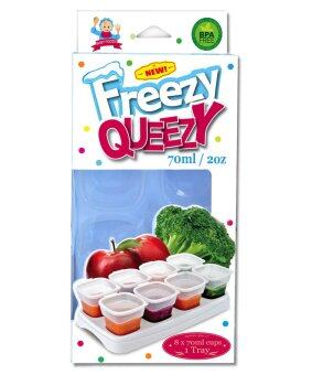 Harga Alpha Baby FREEZY QUEEZY 2OZ BABY CUBES (WHITE)