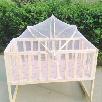 Baby Bed Tent Infant Canopy Folding Anti Mosquito Net Toddlers CotNetting - intl - 5