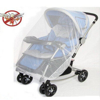 Harga Baby Pram Pushchair Mosquito Net Fly Midge Stroller Protector Insect Bug Cover
