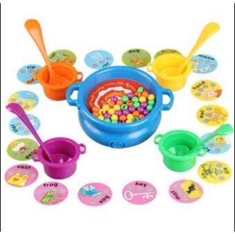 Baby Station ของเล่นเสริมพัฒนาการ หม้อซุปตักคำศัพท์แสนสนุกฝึกสะกดคำศัพท์