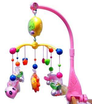 baby_kidsonline โมบายดนตรีแบบใส่ถ่านรูปผึ้งน้อย -Pink