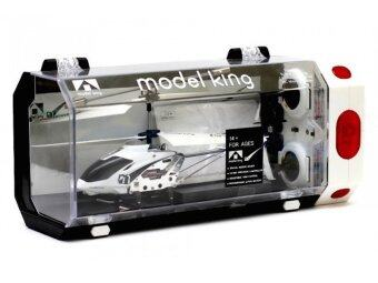 Babybearonline Model king Helicopter 3.5 CH Built-in Gyro รุ่น33008 - สีขาว