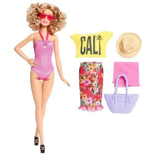 Barbie Clam Vacation Doll รุ่น DGY73 (สีชมพู)