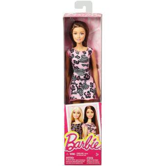 Barbie® Doll - Barbie Bow Art on Pink (image 1)
