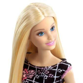 Barbie® Doll - Barbie Floral Art on Black Dress (image 2)