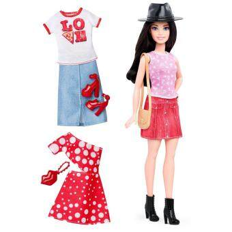 Barbie? Fashionistas? 40 Pizza Pizzazz Doll & Fashions - Petite