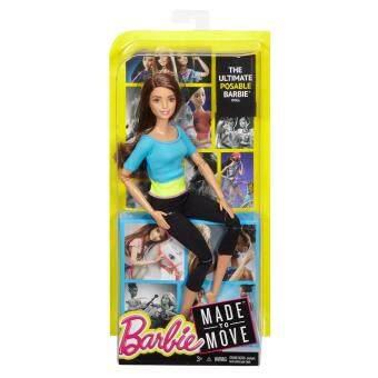 Barbie® Made To Move™ Doll - Turquoise Top (image 1)