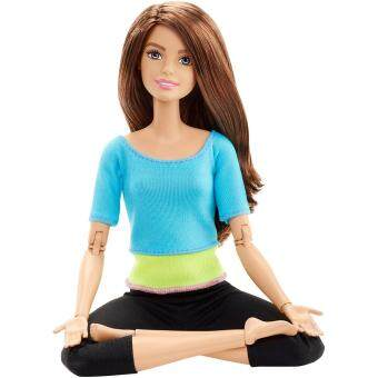 Barbie® Made To Move™ Doll - Turquoise Top (image 2)