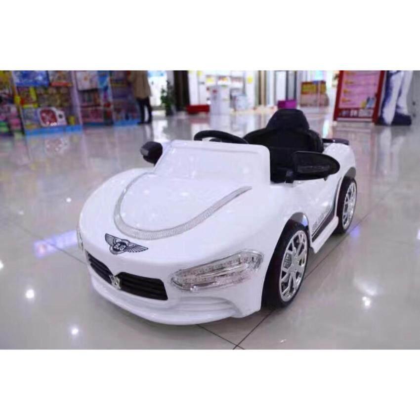 รถแบตเตอรรี่ไฟฟ้า รถบังคับ รถเด็กเล่น รถเก๋งเบนท์สปร์อต รุ่น Bentsport XDL-518 (สีขาว)