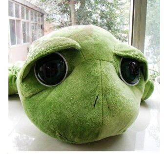 Harga Big tortoise Turtle Plush Toy Doll cushion and pillow doll-Green - intl