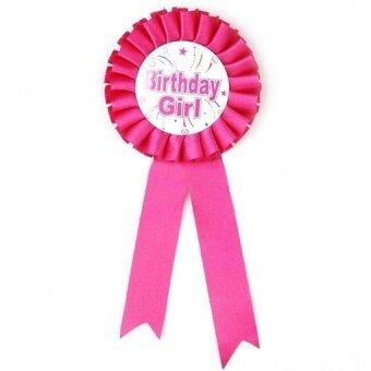 Birthday Boy Award Ribbon Rosette Badge Pin Children Girl - intl