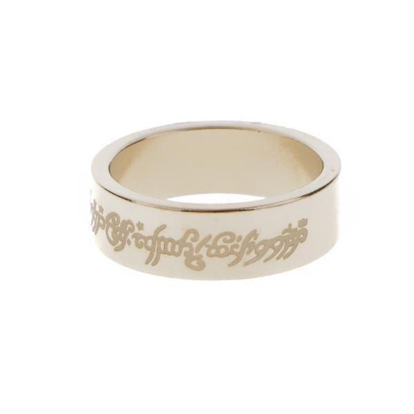 ขาย BolehDeals Magical Magnetic Magic Ring for Tricks Props Silver 20mm - intl