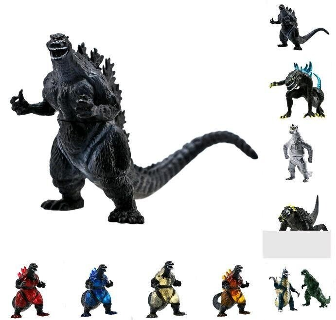 BOOM-Godzilla Monsters Mechagodzilla Trendmaster Anguirus 10 Action Toy Kids Figure - intl