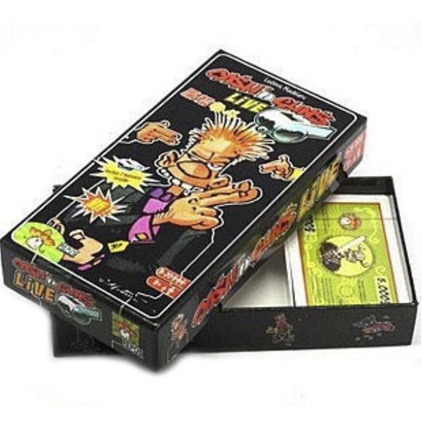 Cash N Guns Live Playing Card Board Game - intl
