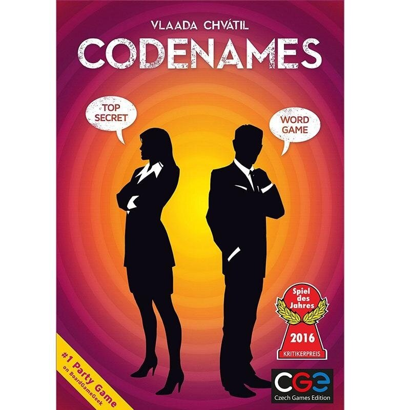 Confidential Action Codenames Board Game Family Friend Party Game Card Game - intl