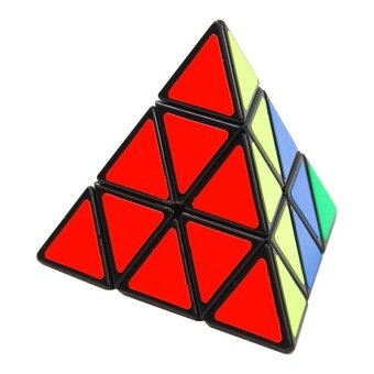Cool baby Pyramid Pyraminx Magic Cube Puzzle Speed Cubes EducationLearning Gift Children - intl