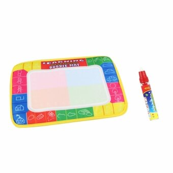 CP1366 29X19cm Kids Water Drawing Mat Aquadoodle Mat&1 MagicPen/Water Drawing board/baby play mat/baby doodle mat