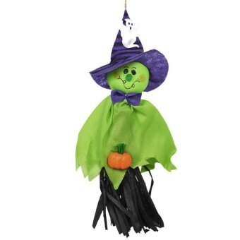 Cute Ghost Halloween House Party Hanging Garland Decoration KidsJoking Doll - intl