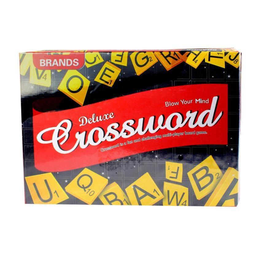 Deluxe Crossword เกมต่อคำศัพท์ภาษาอังกฤษ รุ่น 0122Y
