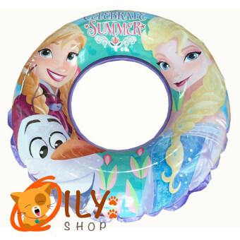 Disney Frozen ห่วงยางว่ายน้ำ ลายเจ้าหญิงโฟรเซ่น สีม่วง ขนาด 20นิ้ว