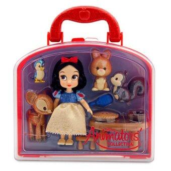 Disney Princess Mini Disney Animators' Collection Snow White MiniDoll Play Set 5''