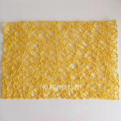 DIY กระดาษสถานรับเลี้ยงหลักสูตรเชือกและเอ็ดหวาย