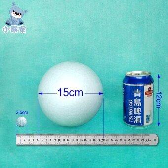 DIY โพลียาวโฟม Sphere
